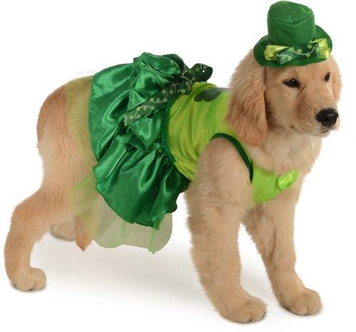 Rubies Costume Halloween Classics Collection Haustierkostüm, klein, irisches Mädchen (Mädchen Irische Halloween-kostüm)