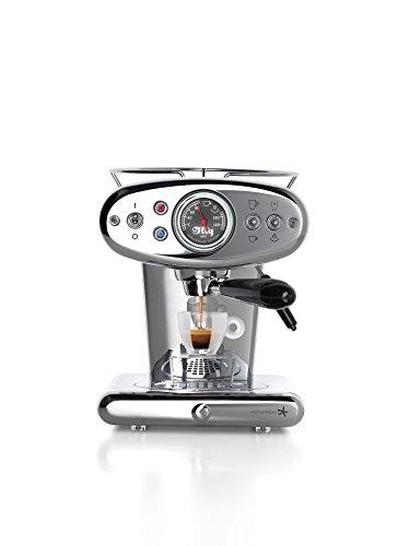 illy X1 Anniversary Iperespresso Kapselmaschine Espresso+Coffee, edelstahl