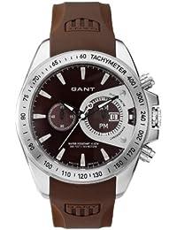 8e18fae359e2 Gant Watches - Reloj analógico de cuarzo para hombre con correa de caucho