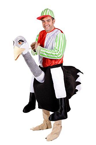 Imagen de disfrazjaiak  disfraz de jockey de avestruz  d8924  hombre, l