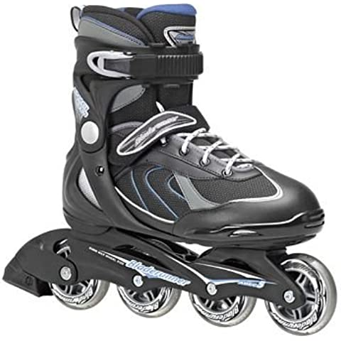Rollerblade - Patines pro 80, talla 42, color negro / Azúl