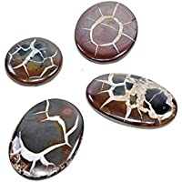 Natural Septarian Cabochon Set Of 3 Chakra Healing Crystal, Meditation Stones, Yoga Crystals, Spirituality Stones... preisvergleich bei billige-tabletten.eu