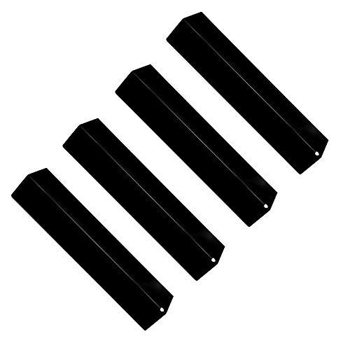 Attachcooking 92311 Flavorizer Bar/Heat Plates aus Porzellan Stahl Ersatz für ausgewählte Gas Grill-Modelle von Aussie, Brinkmann, Grill King, Charmglow und Anderen (4er-Pack) - Charmglow Gas Grill
