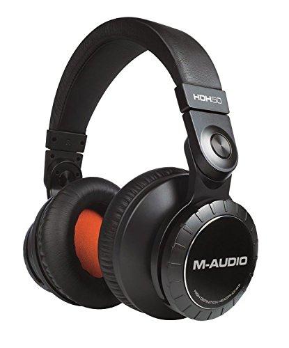 M-Audio HDH50   High Definition Kopfhörer - Hi-Fi Sound für Studio-Monitoring und zu Hause