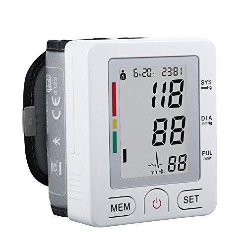 Pawaca 2017 FDA Genehmigt Digitales Automatisches Handgelenk-Blutdruckmessgerät mit Verstellbare HandgelenkmanschetteSpeicherfunktion, Zwei Benutzermodi