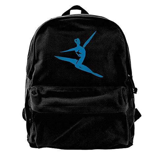 Voxpkrs Men Sport Outdoor Canvas Backpack Travel Daypack SP-76