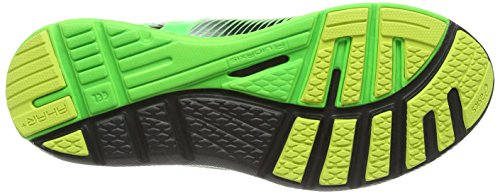 ASICS Gel-Super J33, Chaussures Multisport Outdoor Hommes Vert (Black/Off 9002)