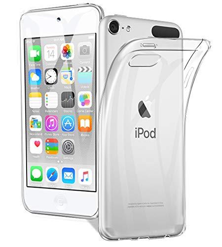 A-VIDET Hülle für iPod Touch 6/7 2019,Ultradünnes Silikon Softschale Rundumschutz Anti-Fall Gehäuse Einfache Rückenschutzhülle für iPod Touch 6/7 2019 Generation (Touch Ipod Fällen)