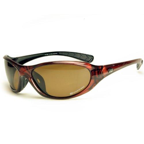 Daisan polarisierende Sonnenbrille Sportbrille - braun
