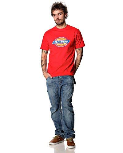 Dickies Herren Langarmshirt Streetwear Male T-Shirt Horseshoe Tee Men Rot