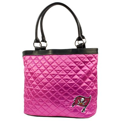 NFL Tampa Bay Buccaneers Pink Quilted Tote