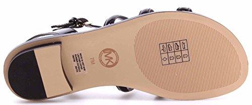 MICHAEL KORS scarpe donna sandali 4OS7NAFA1A NUNTUCKET FLAT SANDAL Nero