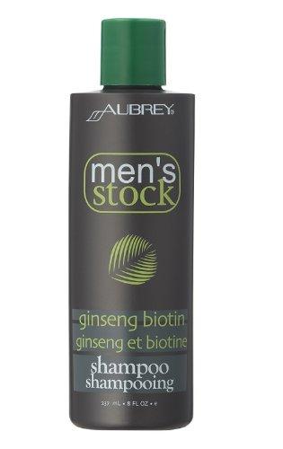 Aubrey Organics Mens Stock Ginseng Shampoo 237ml