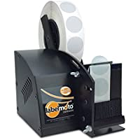 START International LD3500-EU Dispensador de Etiquetas Eléctrico de Alta Velocidad, Ancho Máximo de 57 mm, Longitud máxima de 102 mm, Negro