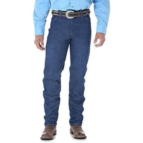 Wrangler Men's Cowboy Cut Original Fit Jean 35W x 38L Indigo by Wrangler