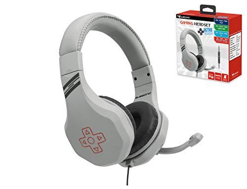 Subsonic - Auriculares gaming para juegos con micrófono para Playstation 4 - PS4 Slim / Pro - Xbox One - PC - Nintendo Switch - Accessorios edición Gamer Battle Royal con extensión Switch