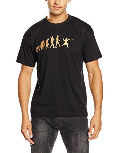 Shirtzshop T-Shirt Bronze Edition Fechten I Degen Florett