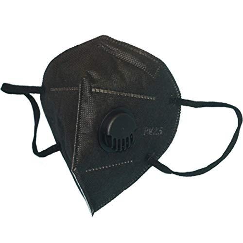 FHJZXDGHNXFGH-DE Maske Anti-Fog-Dunst PM2.5 Stereo Folding Schwarz täglich liefert Gesundheits- und Schönheitspflegeprodukte -