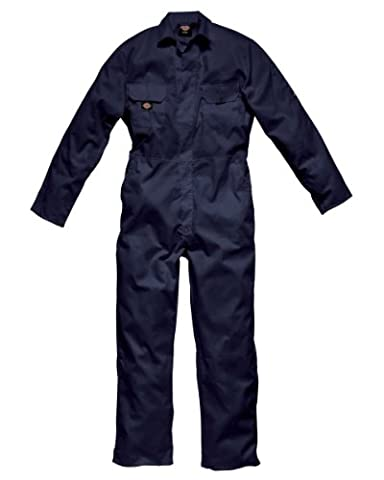 Dickies Redhawk Stud Coverall Regular Colour=Navy Blue Size=M
