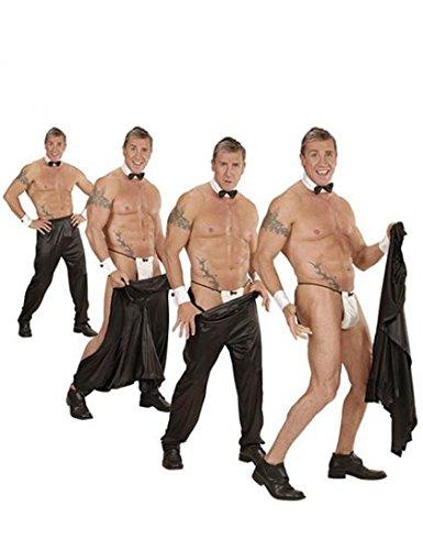 Preisvergleich Produktbild WIDMANN wdm80966 – Kostüm für Erwachsene Hose / Tasse mit Klettverschluss,  schwarz,  XL