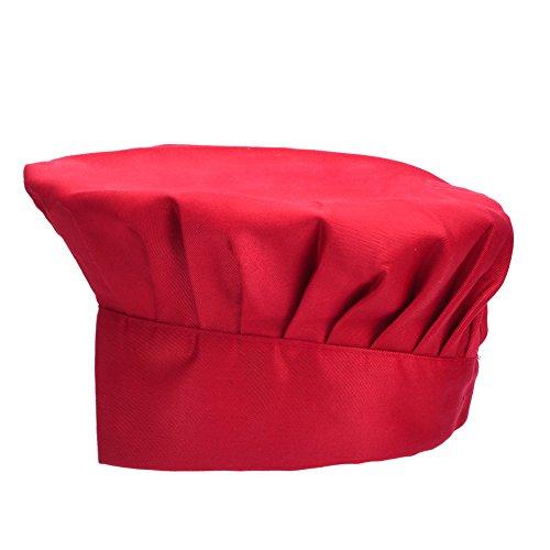 antner-gorro-de-chef-ajustable-elastica-cocinero-sombrero-chef-hat-vino-rojo
