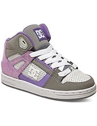 DC Shoes Bambino Bambina Rebound UL K Scarpe Multicolore Size: 4 UK Salida En Italia Precio Barato Clásica El Mejor Barato Al Por Mayor 2018 Fresco mN4F0je3