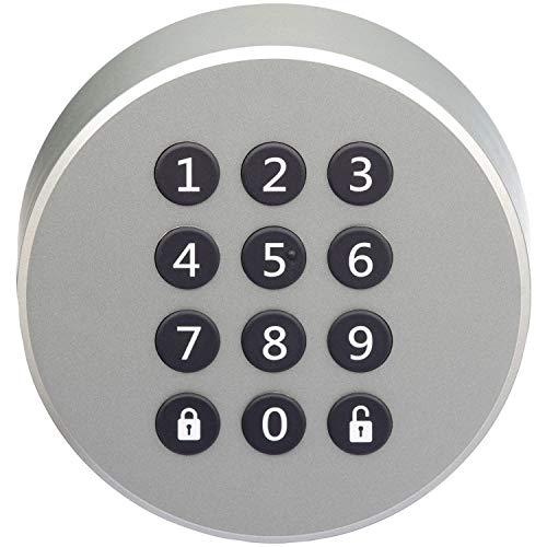 Danalock Danapad V3SmartHome Sécurité Verrou de Porte de contrôle d'accès Clavier, Argent...
