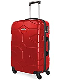 ITACA - 68170 TROLLEY GRANDE ABS, Color Rojo