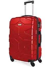 ITACA - 68170 TROLLEY GRANDE ABS, Color Rojo