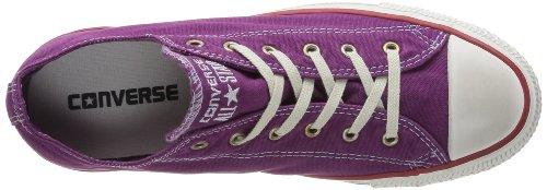 Converse Ct Well Worn Ox, Baskets mode mixte adulte Violet (Prune)