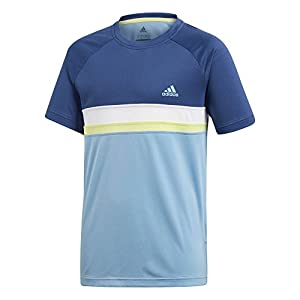 adidas Jungen Club Colorblock Kurzarm T-Shirt