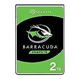 Seagate Barracuda - Disco Duro Interno de 2 TB (2,5', 128 MB de caché, SATA 6 GB/s, hasta 140 MB/s)