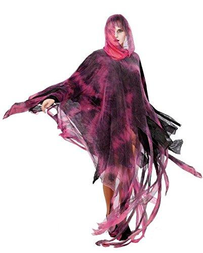 t Zombie Poncho Kostüm, groß, 160cm (Kreative Halloween Kostüme Mit Schwarzem Kleid)
