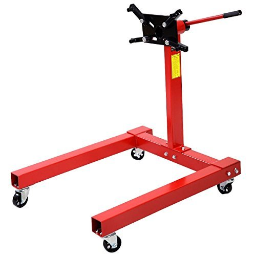 Preisvergleich Produktbild Goplus 1250 LBS Shop Engine Stand Pro Hoist Automotive Lift Rotating 2 Leg Type Motor by Goplus