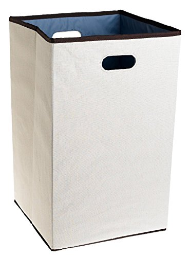 Rubbermaid Configurations Folding Laundry Hamper, 23-inch, Natural (FG4D0602NATUR) by Rubbermaid