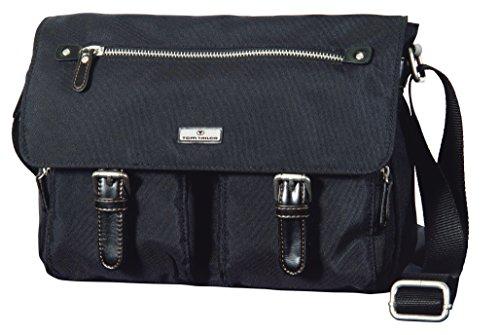 TOM TAILOR für Frauen Taschen & Geldbörsen Schulter-Tasche aus Nylon schwarz/black, OneSize