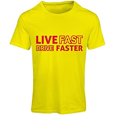 N4449F Camiseta mujer Live Fast Drive Faster