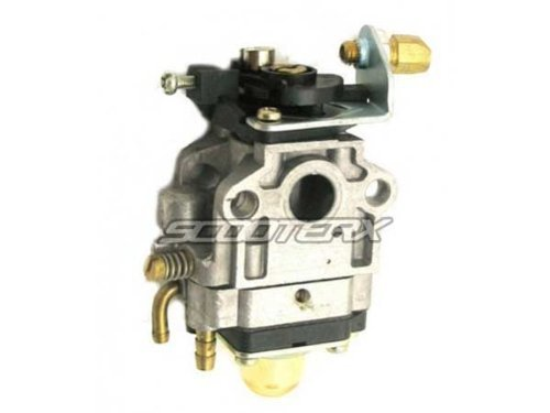 SCOOTERX 10mm Carburetor for 33cc and 36cc Gas Scooters, Pocket Bikes, Go  Karts, and Mini Choppers, Go Ped by Scooter X