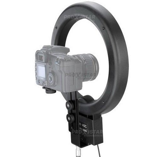 proxistar Ringleuchte 65W + Kamerastativhalterung