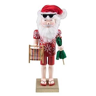 Clever Creations – Cascanueces Tradicional de Navidad – 100% Madera