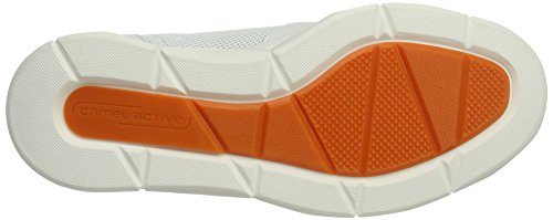 Camel Active Pyramid 11, Sneakers Basses Homme Blanc (White/Off-White 03)
