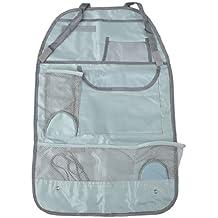 sourcingmap® Grau Nylon Multi Tasche Rücksitz Hanging Organizer Tasche für Auto Fahrzeuge