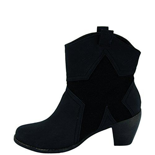 Unbekannt - Stivali Donna Nero (nero)
