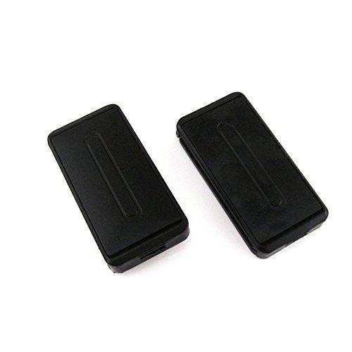 Ajuste universal coche cinturón de seguridad Ajustador para Correa Cinturón de hombro cuello confort ajuste abrazadera Clips de Cinturón de Seguridad Extender (2pcs)