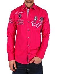 Redbridge Herren Regular Fit Freizeithemd R-2130