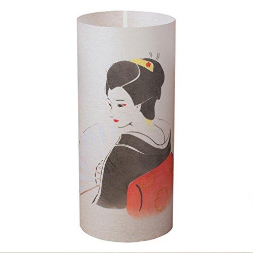 GEISHA - Japanische Lampe Handgefertigt - Japanische Geisha -