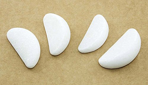 hot-stone-massage-marble-crescent-moon-eye-stones-42-x-2-x-12-cm-pack-of-4