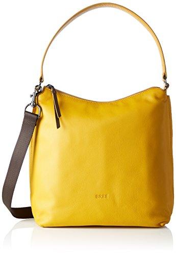 BREE Damen Toulouse 4 S17 Schultertasche, Gelb (Mango), One Size
