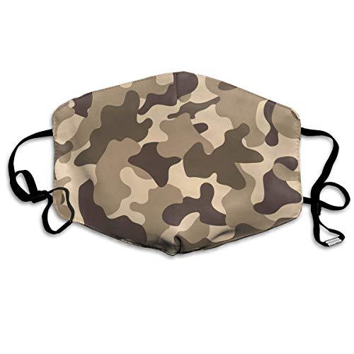 Masken, Masken für Erwachsene, Camouflage Forest War Reusable Anti Dust Face Mouth Cover Mask Protective Breath Healthy Safety (Of Gears War-maske)