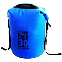 Karana Ocean Dry Pack Day Waterproof Travel Kayak Duffel Bag 30 Litre 30L Blue